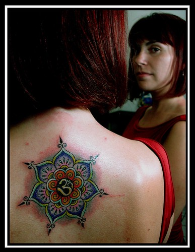 mandala tattoo by Pablo Dellic