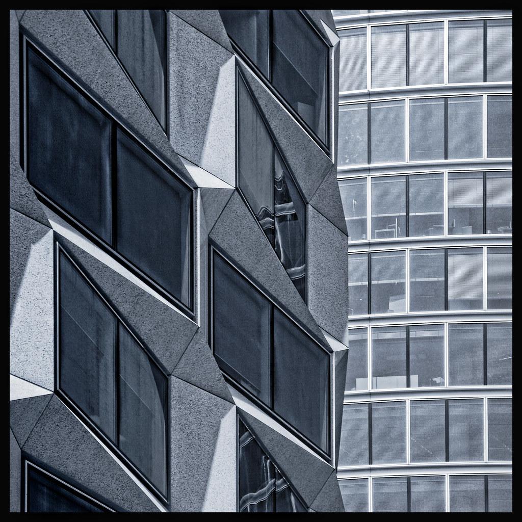 UK - London - City reflections