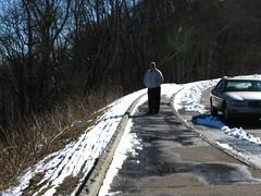 "IMG_5311 (Claire DeLand ~ ""GA Music Maker"") Tags: winter snow mountains ice nature scenic blueridgemountains wnc brp scenicdrive g9 winter2010 westvirginiaturnpike"