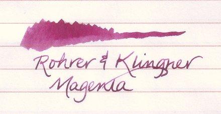 Rohrer & Klingner Magenta