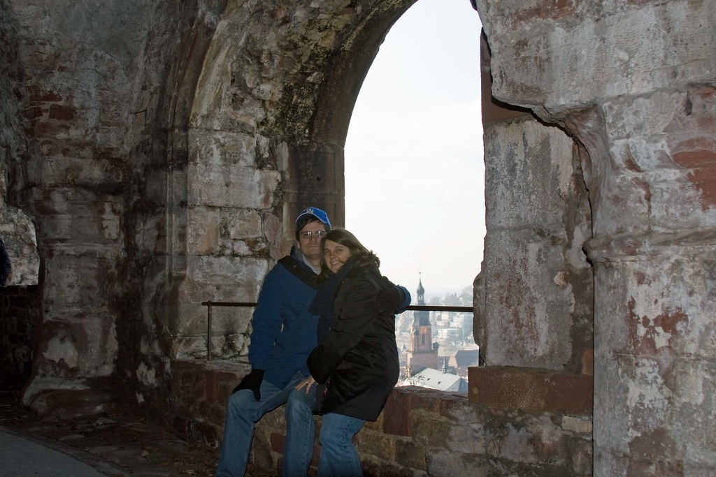 Us in Heidelberg