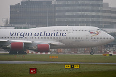 G-VXLG - 29406 - Virgin Atlantic Airways - Boeing 747-41R - Manchester - 081126 - Steven Gray - IMG_2619