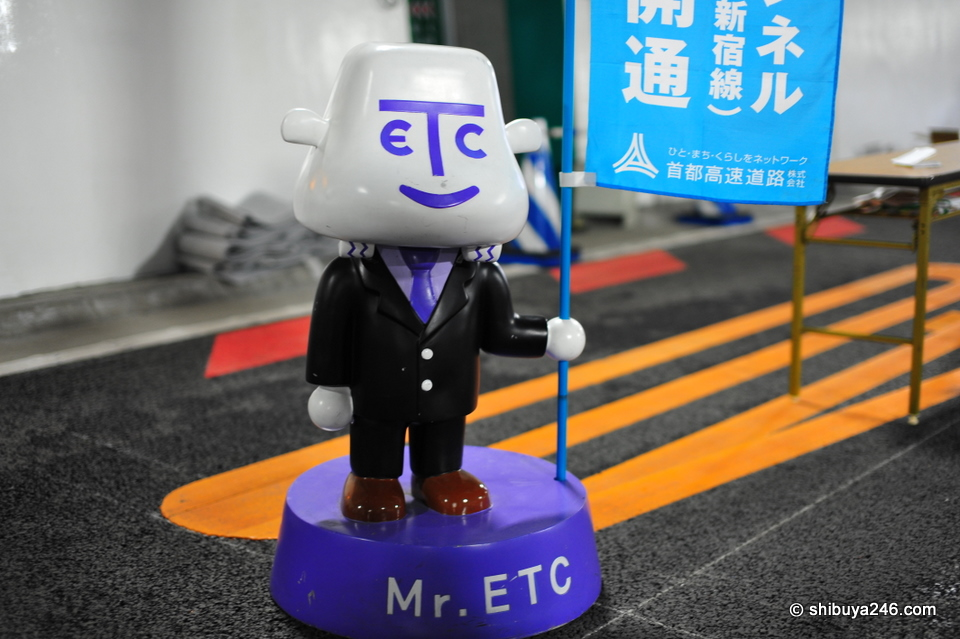 Mr ETC made an appearance in plastic form. I hadn't seen this character before except on TV.