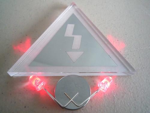 Crash Space LED art