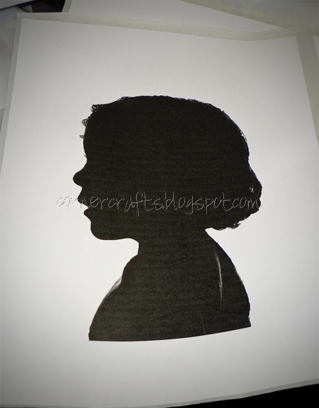silhouette canvas picture