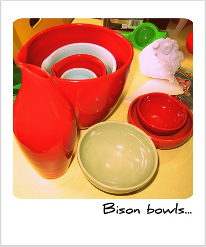 Our loot from Bison ceramics