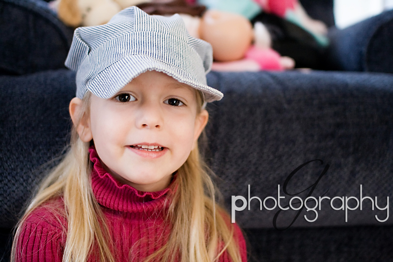 Natalie and her hat