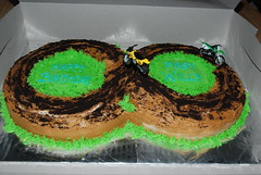 Dirt Bike (cake-o-licious) Tags: birthday bike cake dirtbike motorbikes