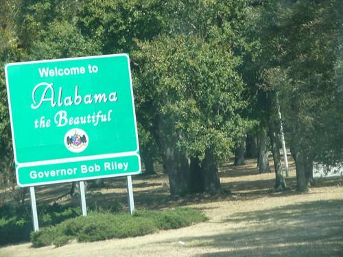 alabama state line.
