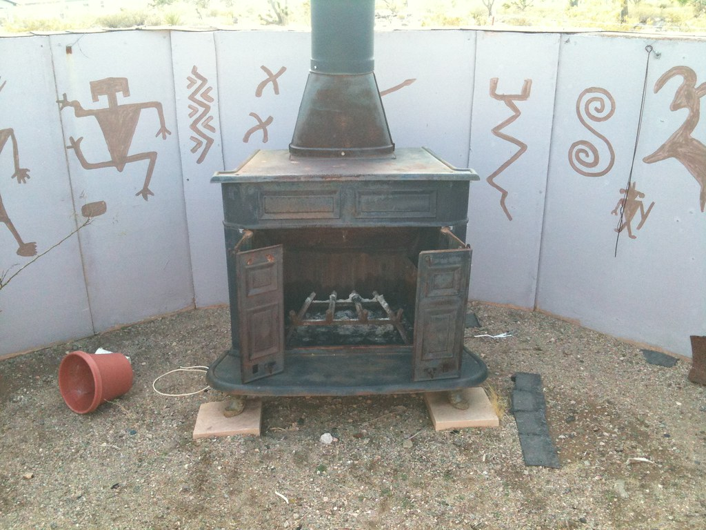 wood burning stove-2
