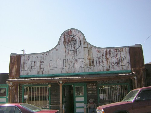 Lee Lumbar Company: Oatman, Arizona