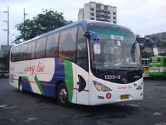 Isarog 1222-3 Bus K (Normand Five) Tags: boy nissan diesel extreme lazy cubao naga kinglong pf6 isarog