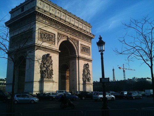 Paris - L'arc de Triomphe