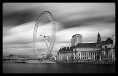 Different Spin [IR] (Edd Noble) Tags: london wheel 35mm ir nikon londoneye infrared f2 nikkor britishairways d3 35mmf2d
