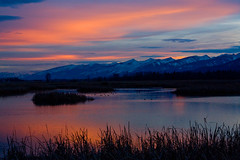 Mountain Daylight Time (BigSkyKatie) Tags: sunset landscape florence pond montana natural wildlife national marsh natue wetland refuge riparian nwr bigskycountry stevensville supershot leemetcalf abigfave katielasallelowery