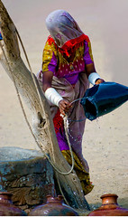 Every Drop Matters! (Commoner28th) Tags: pakistan woman india water sand dress culture drop colourful ahmed sindh indus jaisalmer thar rajasthan bangles ivc agha mirpurkhas deser waseem cholistan indusvalley rohi indusvalleycivilization