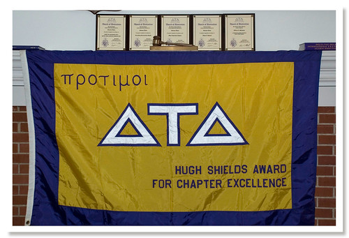 Delta Tau Delta wins Hugh Shields Award