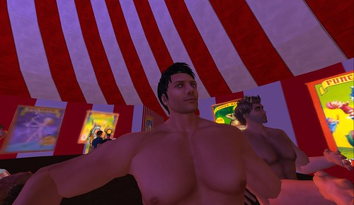 jakeC and baz in second life