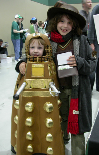 Dr. Who and a Dalek at Emerald City ComiCon