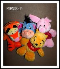 Friendship (IngaPlinga77) Tags: friendship winniethepooh week12pix 52weeksofpix2010