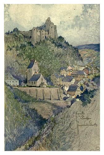 003-Ferrette una ciudad de juguete-Alsace-Lorraine-1918- Edwards George Wharton