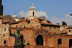 sunny day (Pomponio52) Tags: rome forum sunny foriimperiali