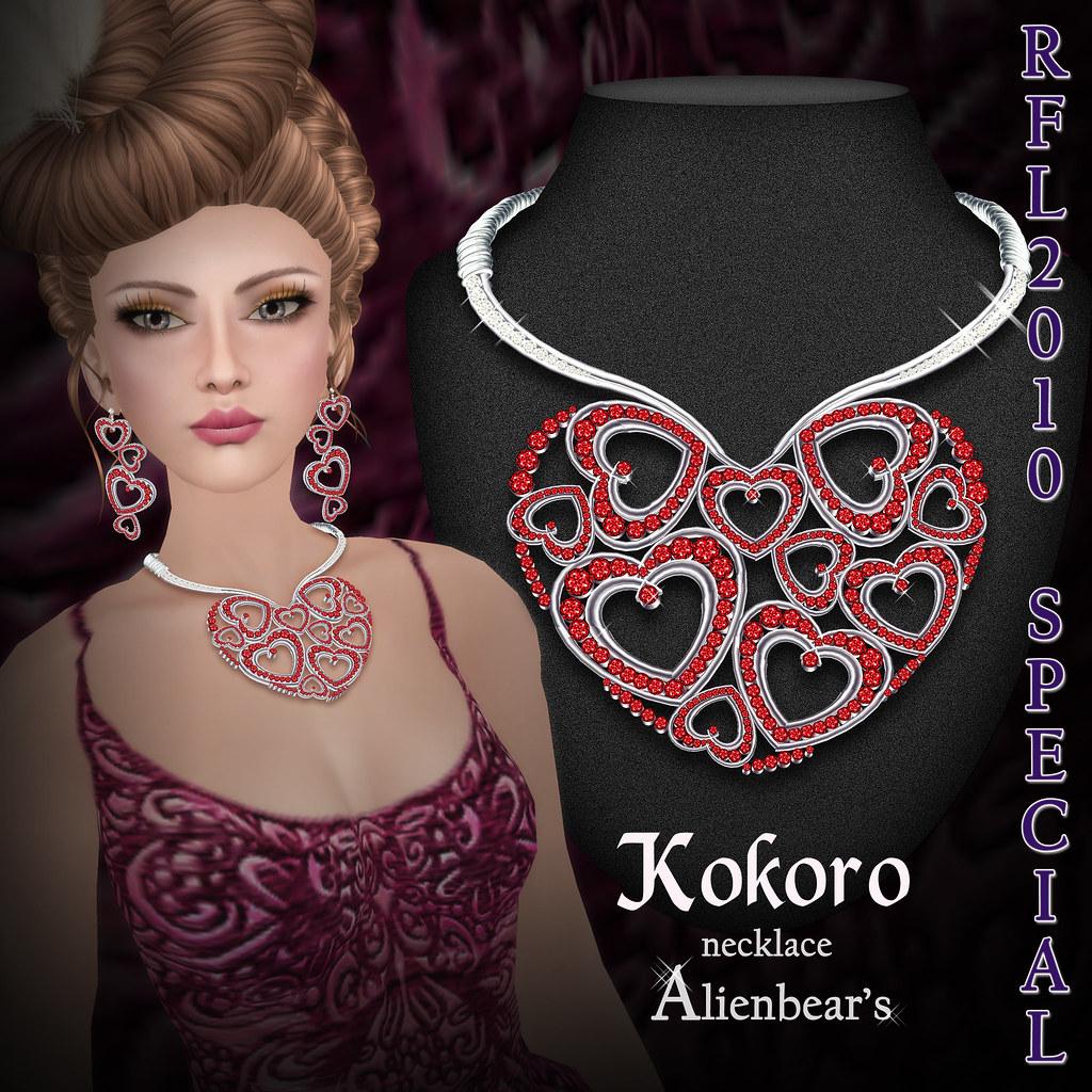 RFL2010 Kokoro necklace special