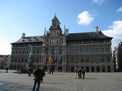 Antwerp's Stadhuis, on the Grote Markt (IMG_