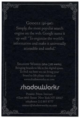 Google back
