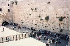 エルサレム旧市街 嘆きの壁(イスラエル)