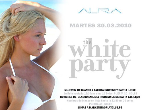The White Party - Aura