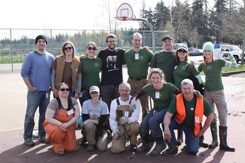 Planting trees, meeting people (Greg Tudor)