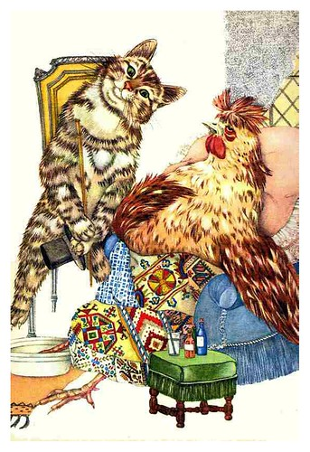 011-The Cat and the Sick Chicken - Le Chat Jérémie et autres histoires de chats-Adrienne Segur