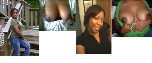 pigtails big tits boobs online pics: ebony, round, heavy, fat, tits, areolas, black, hang, big, nipples, boobs, dark, breast, chest, large, bigtits