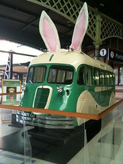 Easter ears on the paybus