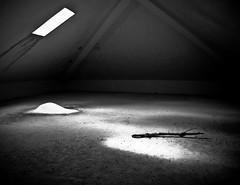 Desvn del Sanatorio de la Tablada (^CiViLoN^) Tags: madrid white black abandoned blanco la negro guadarrama sanatorio abandonado d60 tablada