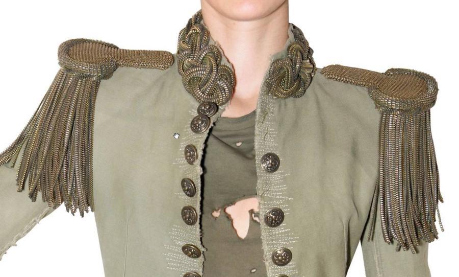 Balmain SS2010 zipper jacket 1