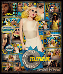 Lady Gaga & Beyonce - Telephone (netmen!) Tags: monster lady telephone fame jonas gaga blend beyonce the akerlund netmen