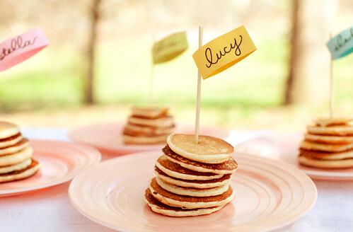 Easter Brunch Mini Pancakes