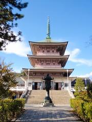 Petit temple de Nagano