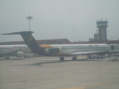 S2-ADO - GMG Airlines McDonnell Douglas MD-83 Aircraft @ Kathmandu (orclimber) Tags: plane airplane airport aircraft ktm international kathmandu douglas airlines mcdonnell md83 gmg tribhuvan s2ado