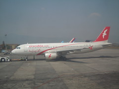 A6-ABL - Air Arabia Airbus A320 aircraft @ Kathmandu (orclimber) Tags: plane airplane airport aircraft air ktm international airbus arabia kathmandu a320 tribhuvan a6abl