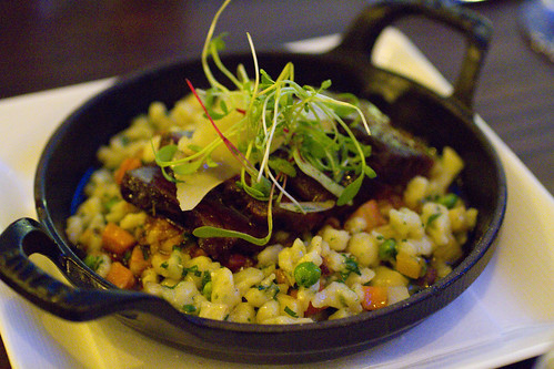 Short Ribs with Spaetzle