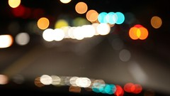 Bokeh for Ants (Lidia Camacho) Tags: night video driving miami fast listening musica canon5d hd rapido gorillaz manejando markii desenfocado empireants