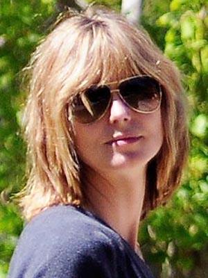heidi klum bob 2011. heidi klum bob. Heidi Klum Debuts New Shaggy