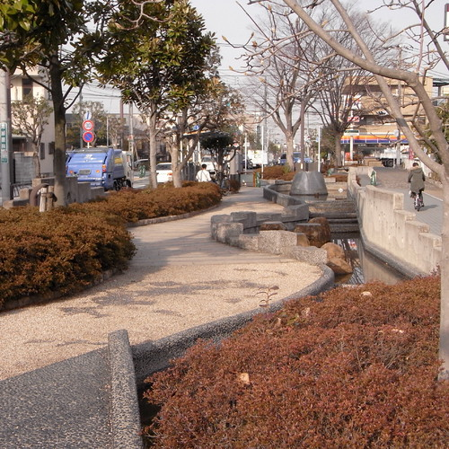 Nishi-Ibori babbling stream park 04