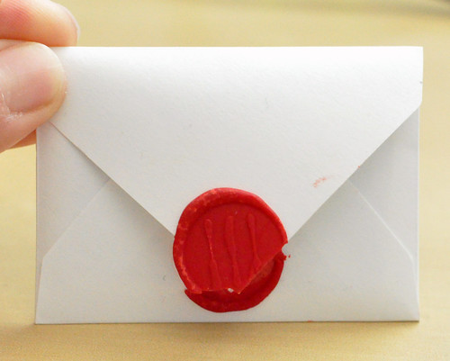 Queen of Hearts Envelope