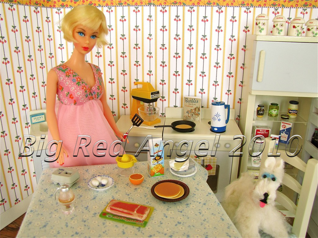 Barbie's Pancake Breakfast