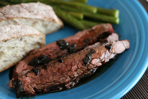 Balsamic Teriyaki Steak