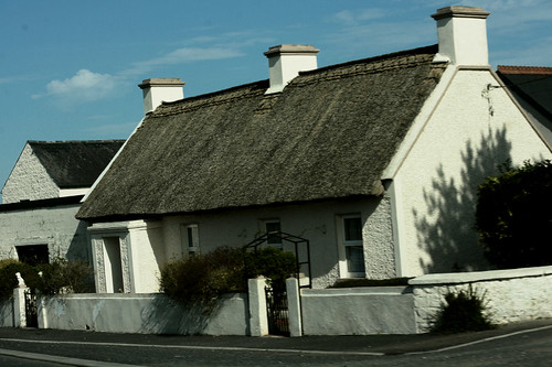 Thatched Cottage in Ireland